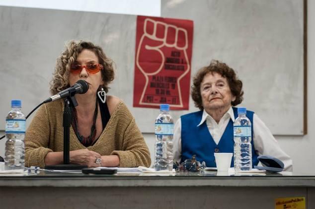 Mabel Bellucci y Mirta Henault